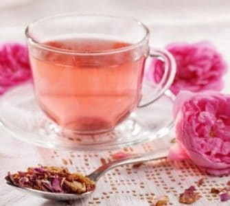 image of how to dry rose petals for tea