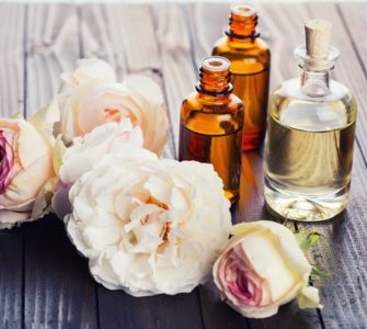 image of how to make essential rose oil at home
