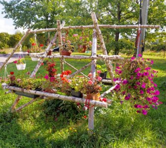 image of homemade flower trellis how to make a rose trellis